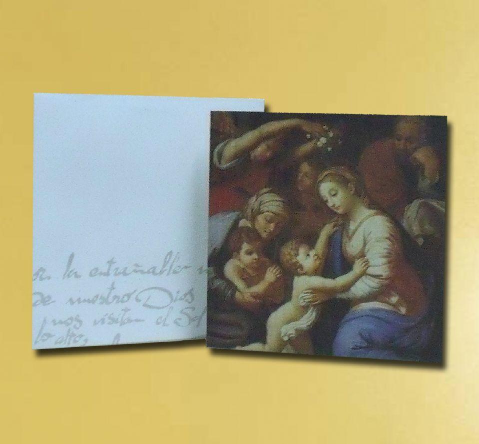 Imagenes Sagrada Familia Navidad.Felicitacion Navidad Sagrada Familia Otros Articulos